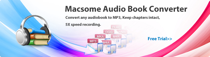 Convert any audiobook to MP3 to play anywhere