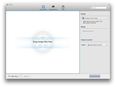 Kigo Video Converter Free for Mac full screenshot