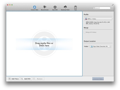 Screenshot vom Programm: Kigo Video Converter Pro for Mac
