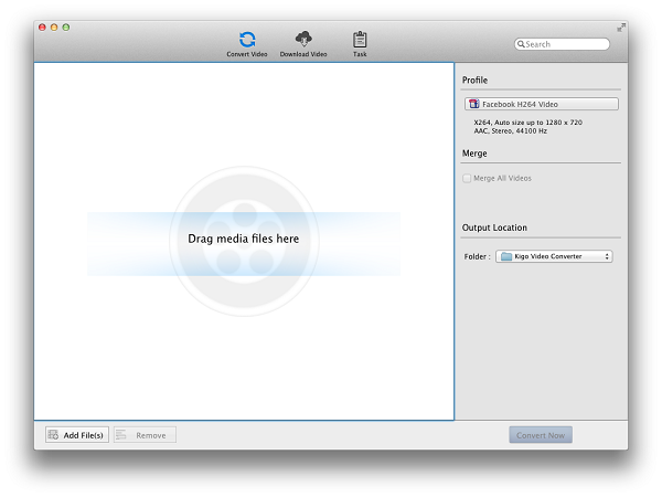 Free Video Converter for Mac Version