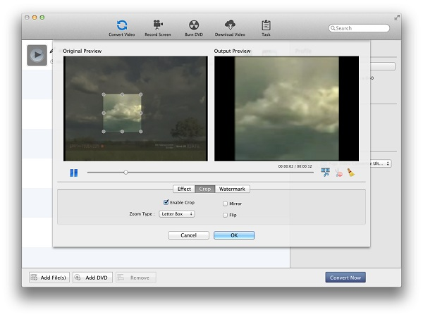 Crop Video on Mac – Kigo Video Converter Ultimate