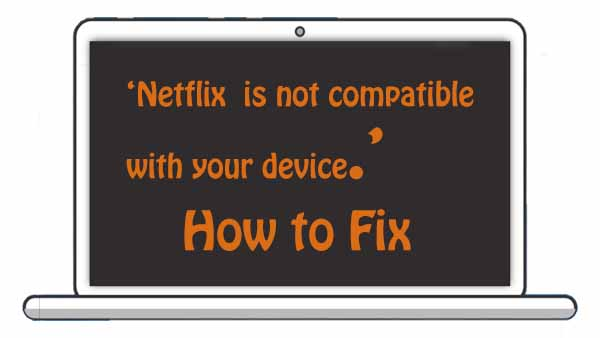 Fix Netflix not Compatible