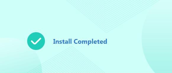 Installation Successfully