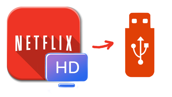 Move Netflix videos to USB Drive