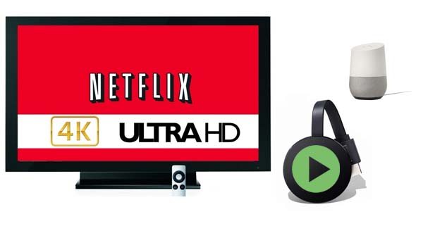 stream netflix on chromecast