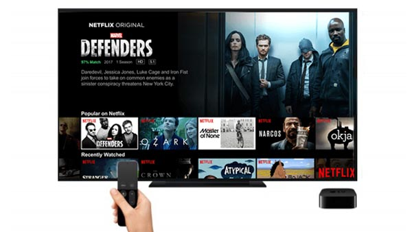 Watch Netflix on Apple TV 4