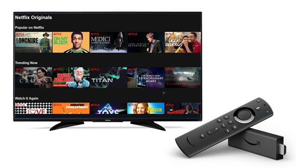 Play Netflix on Amazon Fire TV